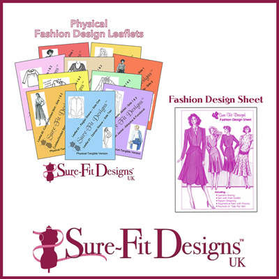 10 Fashion Design Leaflets & 1 Sheet