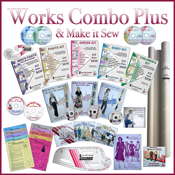 Works Combo Plus & Make It Sew DVDs