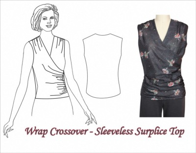 Wrap Crossover Top