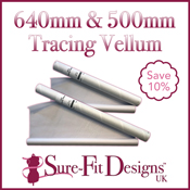 Tracing Vellum 500mm & 640mm x 20m - Discounted