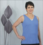 Tank Top Lace Inset Pattern