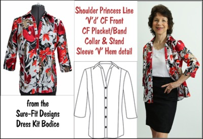 Princess Line Blouse